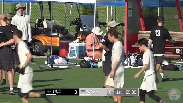 UNC vs. Washington | Men's Quarterfinal | D-I College Championships 2018