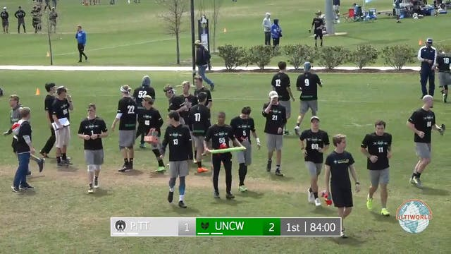 Easterns 2018: #7 UNCW v. #10 Pittsbu...