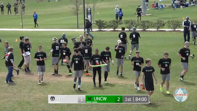 Easterns 2018: #7 UNCW v. #10 Pittsburgh (M Pool Play)