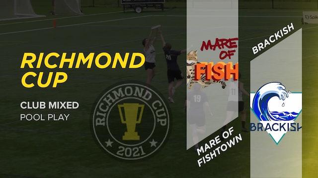 Mare of Fishtown vs. Brackish   Mixed Pool Play