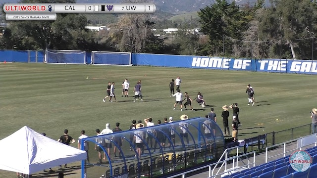 Santa Barbara Invite 2019: Cal vs #7 Washington (M 5th Place)