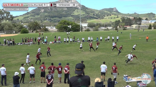 Stanford vs. Cal Poly SLO | Men's Final | Southwest Regionals 2018