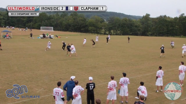 Chesapeake Open 2013: Clapham vs Ironside (M Semi)