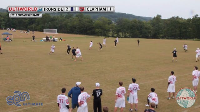 Clapham vs. Ironside | Men's Semifina...