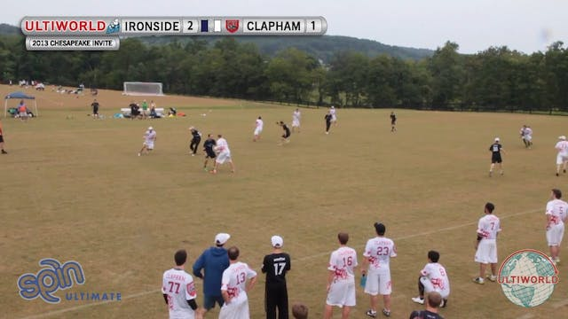 Chesapeake Open 2013: Clapham vs Iron...