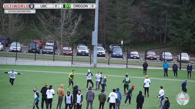 British Columbia vs. Oregon | Men's Round Robin | Bellingham Invite 2018