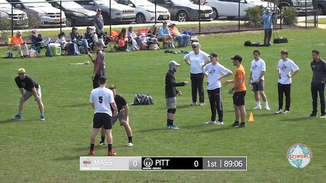 Pittsburgh vs. Massachusetts | Men's Semifinal | Easterns 2018