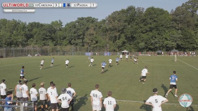 Paideia Cup 2018: Carolina Friends [NC] vs Paideia [GA] (B)