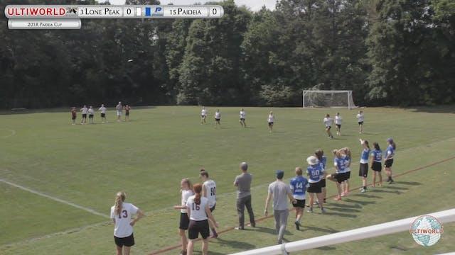Paideia Cup 2018: Lone Peak [UT] vs P...