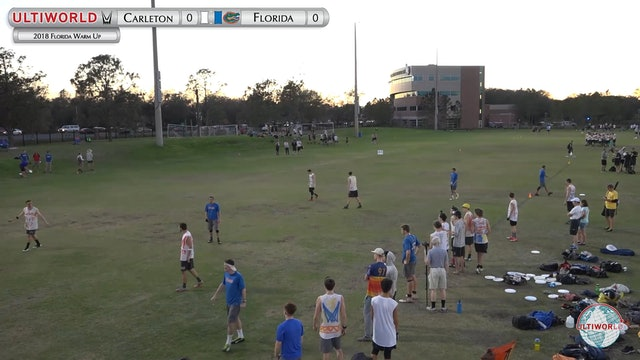 Florida Warm Up 2018: #1 Carleton v #21 Florida (M Quarterfinal)