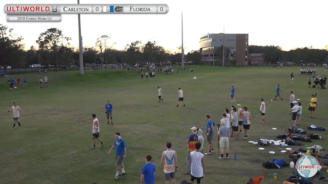 Florida Warm Up 2018: #1 Carleton v #...