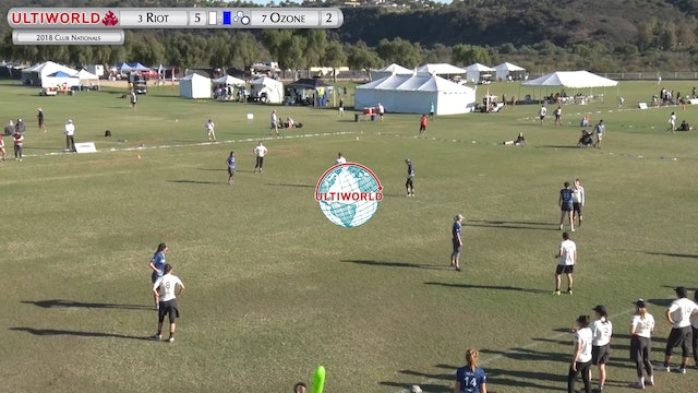 Riot vs. Ozone | Women's Pool Play | Club Championships 2018