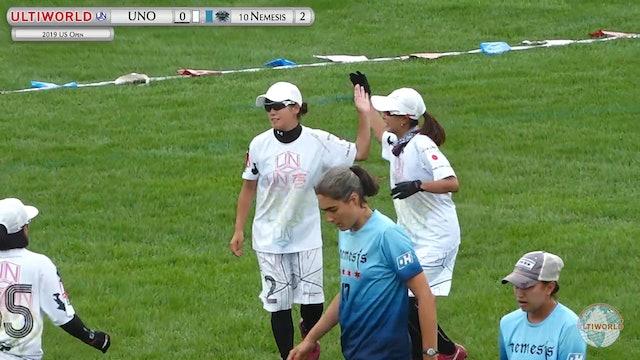 US Open 2019: #10 Nemesis vs UNO (W)