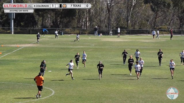 Texas vs. Colorado | Women's Semifina...