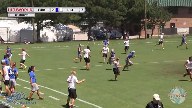 Fury vs. Riot | Women's Pool Play | US Open 2013