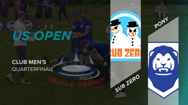 Sub Zero vs. PoNY | Men's Quarterfinal