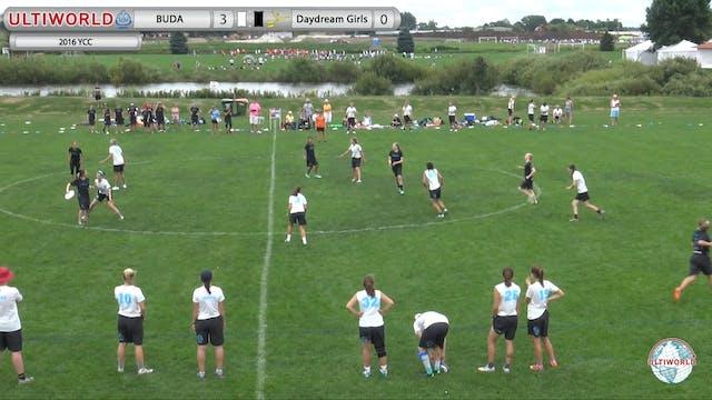 BUDA vs. Daydream | Girl's Pool Play ...