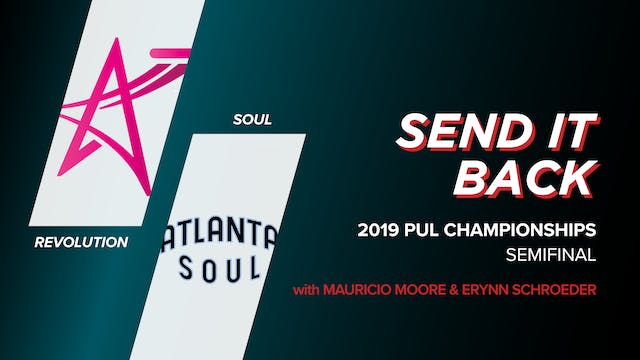 Revolution vs Soul: 2019 PUL Champion...