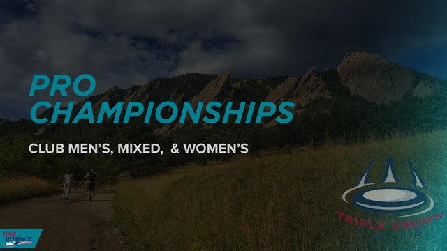 Pro Championships 2021