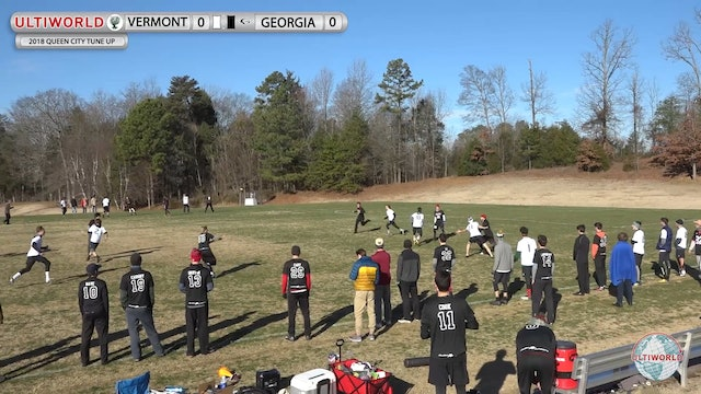 Queen City Tune Up 2018: Vermont v Georgia (M Pool)