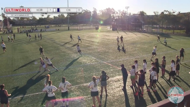 California vs. UCSB | Women's Pool Play | Santa Barbara Invite 2015