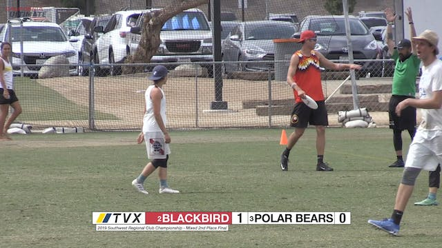 #12 Blackbird vs #19 Polar Bears (X 2nd Place Final, 2019 Southwest Regionals)