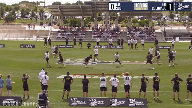 Colorado vs. Cal Poly SLO | Men's Pool Play | D-I College Championships 2019