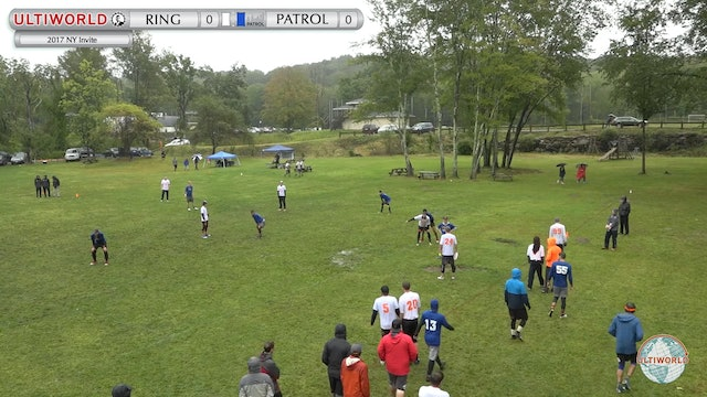 Ring of Fire vs. Patrol | Men's Semifinal | NY Invite 2017