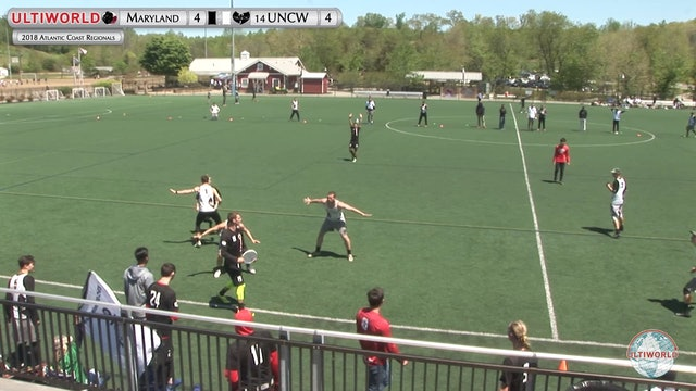 UNC Wilmington vs. Maryland | Men's 4th Place Semifinal | AC Regionals 2018