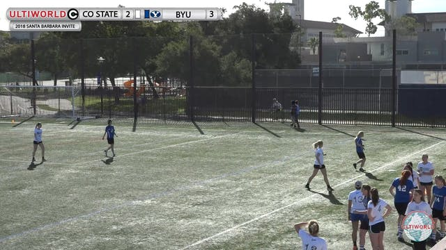 Colorado State vs. BYU | Women's Pool...