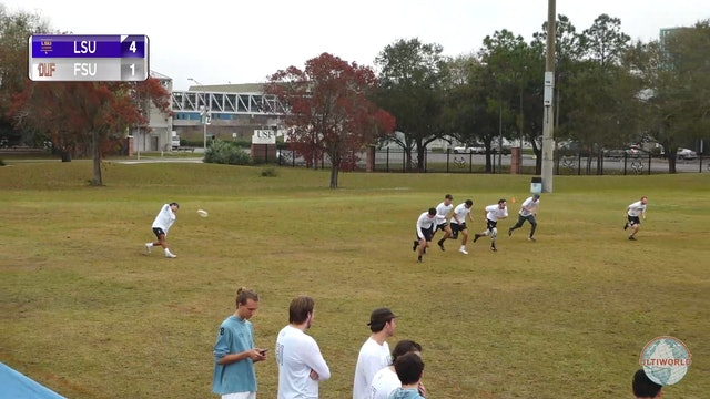 LSU vs. Florida State | Men's Match Play | Florida Warm Up 2020