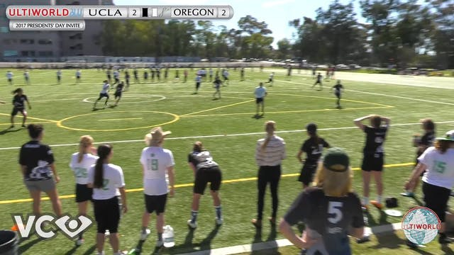 UCLA vs. Oregon | Women's Semifinal |...