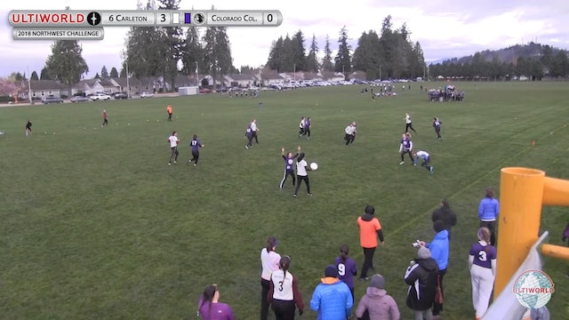Northwest Challenge 2018: #9 Carleton v Colorado College (W Pool)