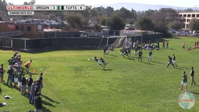 Stanford Invite 2013: Oregon vs Tufts (M Semi)
