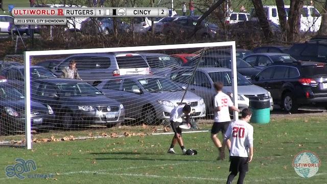 Cincinnati vs. Rutgers | Men's Pool Play | Steel City Showdown 2013