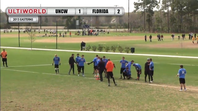 Easterns 2015: UNC Wilmington v. Florida (M Pool)