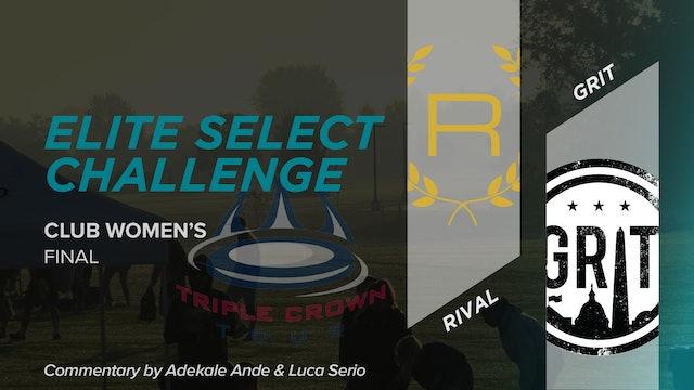 Rival vs. Grit | Women's Final