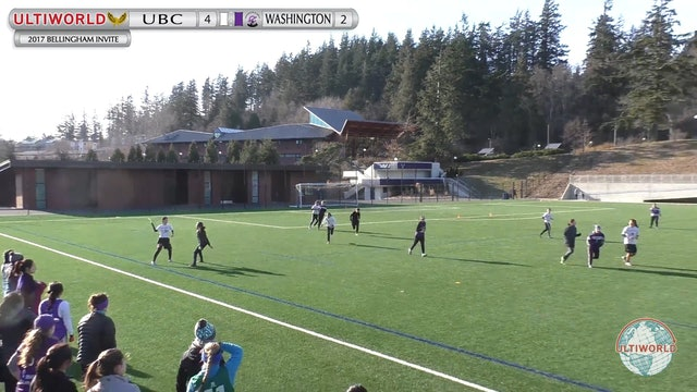 Washington vs. British Columbia | Women's Round Robin | Bellingham Invite 2017