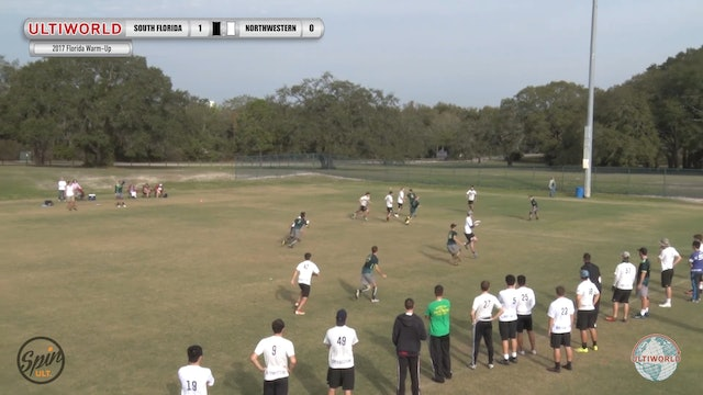 2017 Florida Warm Up: South Florida v Northwestern (Pool) presented by Spin Ultimate