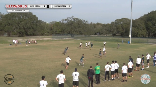 2017 Florida Warm Up: South Florida v...