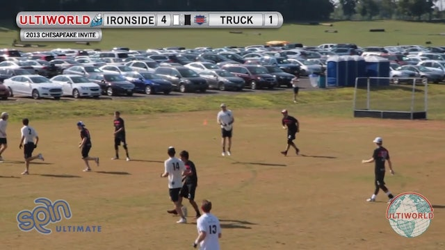 Chesapeake Open 2013: Ironside vs Truck Stop (M)