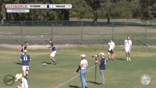 2017 Florida Warm Up: Pittsburgh v Texas A&M (Pool) presented by Spin Ultimate