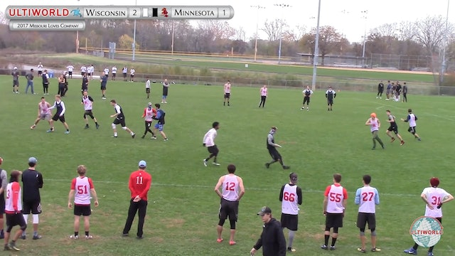 Wisconsin vs. Minnesota | Men's Pool Play | Missouri Loves Company 2017