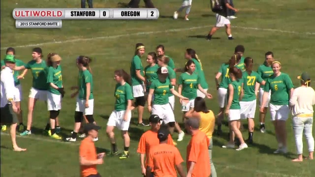Stanford Invite 2015: Oregon v. Stanford (W Final)