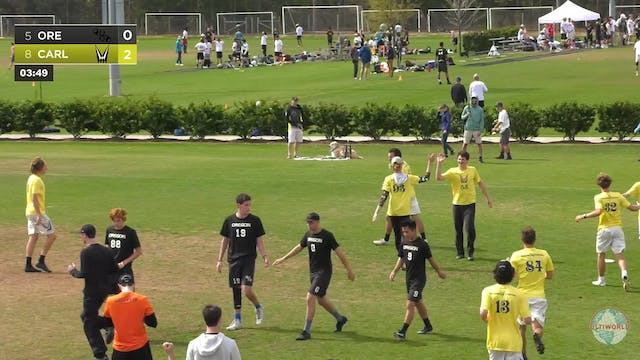 Oregon vs. Carleton | Men's Semifinal...