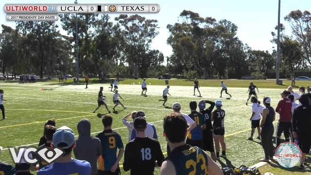 2017 Presidents' Day Invite - UCLA v. Texas (W Final) presented by VC Ultimate