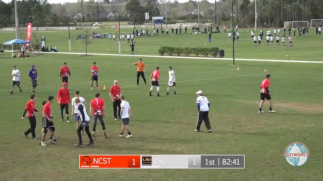 Easterns 2018: LSU v. #19 NC State (M...