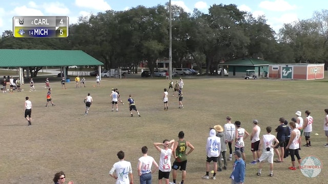 Carleton vs. Michigan | Men's Semifinal | Florida Warm Up 2020