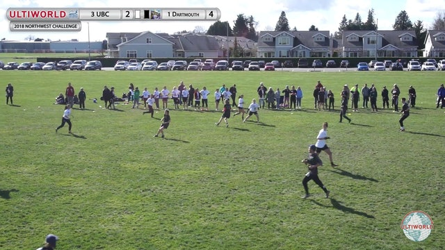 Northwest Challenge 2018: #3 British Columbia v #1 Dartmouth (W Quarterfinal)