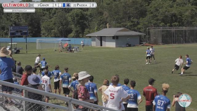 Paideia Cup 2018: Grady [GA] vs Paideia [GA] (B)